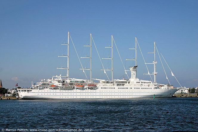 Kreuzfahrtschiff club med 1 1989 kreuzfahrthafen warnemünde
